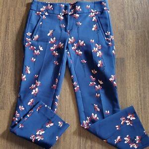 NWOT Ann Taylor LOFT Petites Navy Floral - 00P